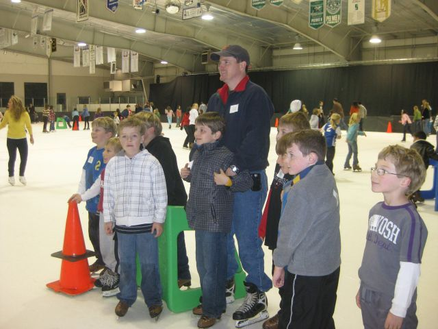 Cub Scouts Ice Skating
