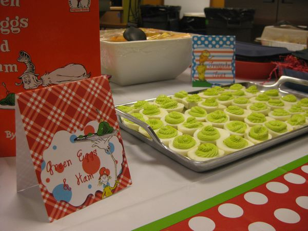 Dr. Seuss Baby Shower Part 2