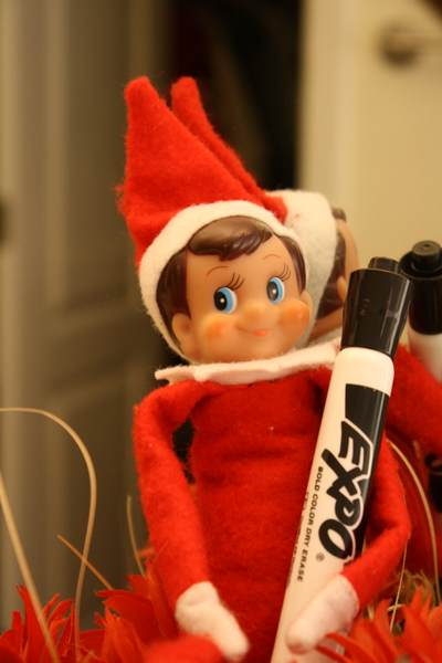 Chester the Elf is upset!