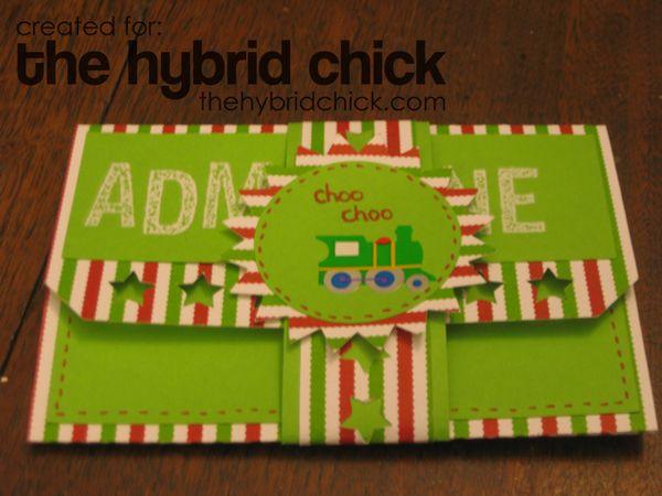 Polar Express Movie Ticket – The Hybrid Chick