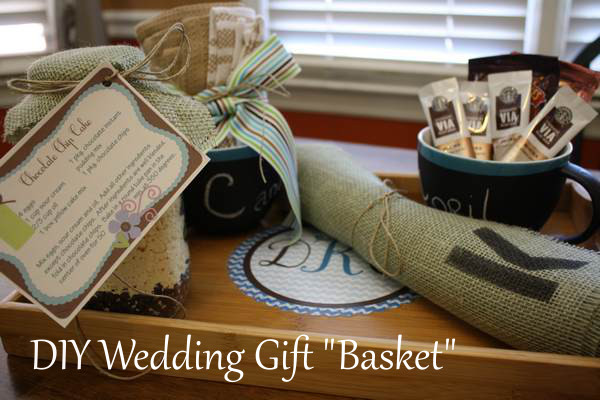 "DIY Wedding Gift ""Basket"""