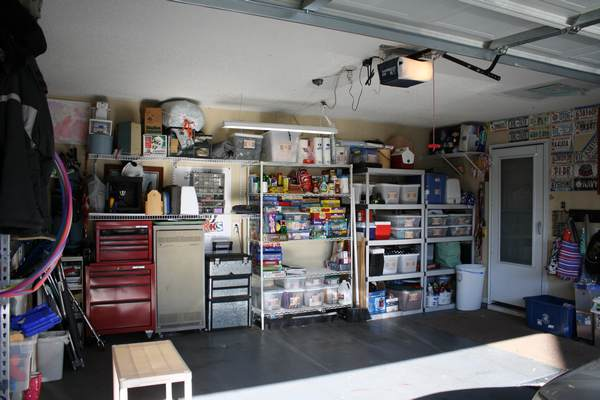 The Great Garage Clean-Out