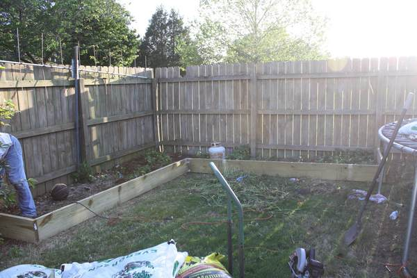 Vegetable Garden – Phase One