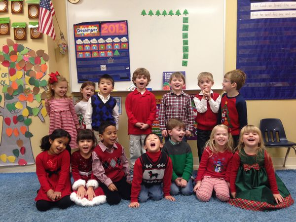 Pre-K Christmas Program