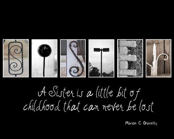Alphabet Art Collages