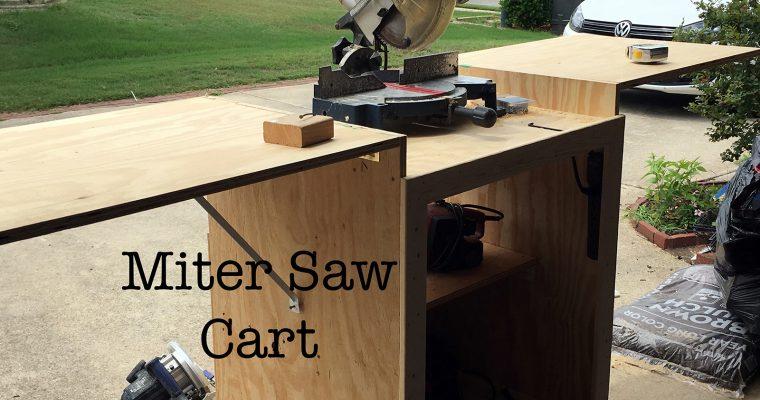 Miter Saw Cart